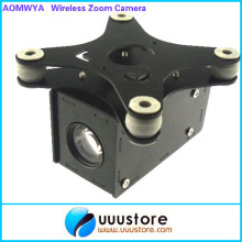 Aomway 1/3'' Sony CCD 700TVL 10X FPV Wireless Zoom Camera w/Glass Fiber Shock Absorber for DJI Phantom Photography