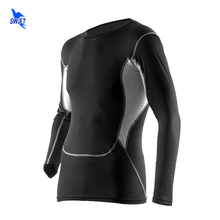 Long Sleeve Running Shirt Men Rashgard Man Compression Fitness Tights Gym Yoga Sports Suits Football Jersey Tank Men's T-Shirts