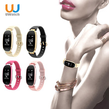 Smartband Bracelet Wearable Devices Women Heart Rate Monitor Fitness IP67 Waterproof Bluetooth Wrist Smart Band PK mi band 2(China)