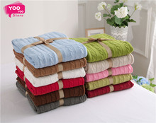 Knitted Blanket Bed Banket 100% Cotton Super Soft Blanket on the bed / Sofa Cover Blanket 120*180/200*180cm Free shipping