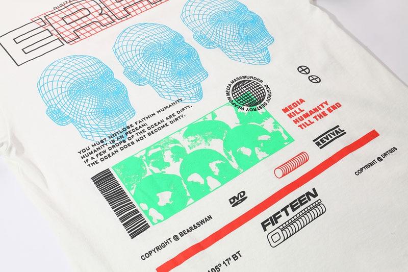 3D Line Printed Tshirts 9