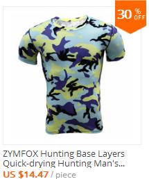 men quick dry hunting t shirt