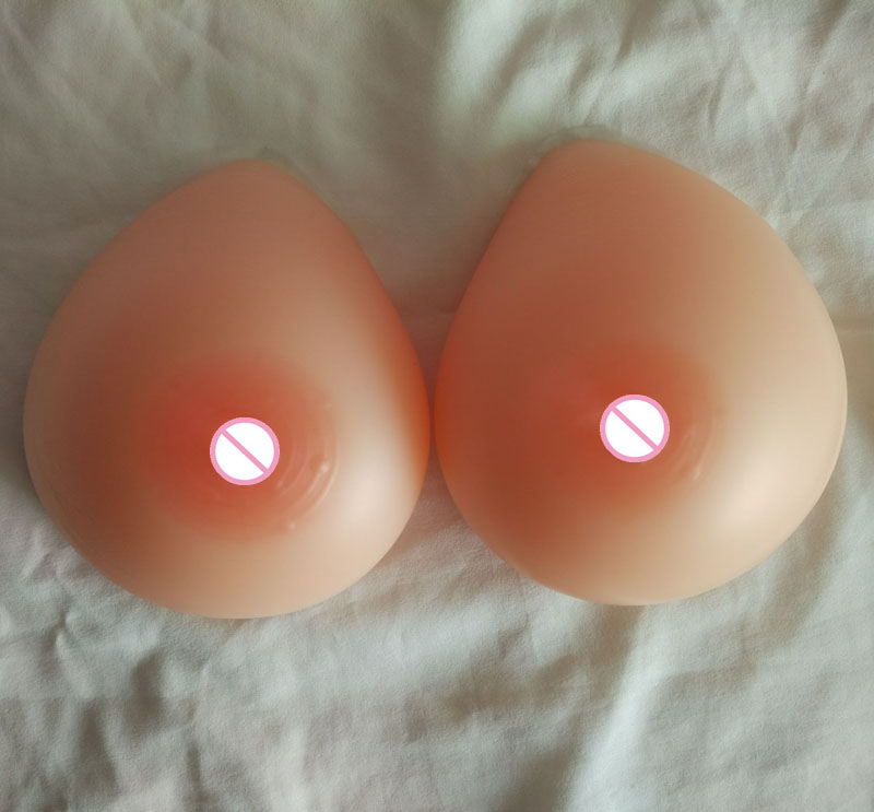 500g/pair A cup drag queen false breasts prosthesis silicone boobs Nude Skin tone real soft tounch<br>