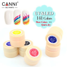 CANNI Factory Supply 141 Colors UV/LED Soak Off Professional Nail Salon UV Gel Paint