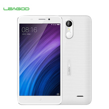 "5.5"" HD Leagoo M5 Plus 4G Mobile Phone 1280x720 MTK6737 Quad Core Android 6.0 13MP CAM 2GB RAM 16GB ROM Fingerprint Smartphone"