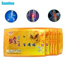 9Pcs Sumifun Chinese Medicines Bee Venom Balm Joint Pain Patch Neck Back Massage Relaxation Killer Body Massager Plaster C326