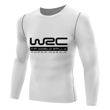wrc t shirt men Compression TShirt long sleeve Fitness tops t-shirt singlets boys TEE Base Layer crossfit men's wrc rally shirt(China)