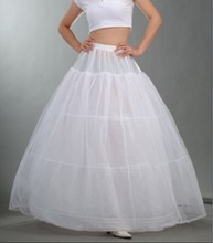 2016 Ball Gown Wedding rtp 3 Hoops Petticoats Long Women Underskirt For Wedding Dress Wedding Accessories enaguas novia vestido