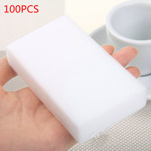 VIGAN 100 pcs/lot high quality melamine sponge Magic Sponge Eraser Dish Cleaner for Kitchen Office Bathroom Cleaning 10x6x2cm