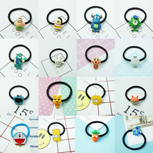 New Style Cute Cartoon Characters Hair Accessories for Girls Women High Elastic lovely Animal Hair Bands Rubber Bands Headwear