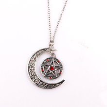 rongji jewelry 5Style Supernatural pentagram Pendant jewelry Forces Of Evil Talisman Necklace for men and women factory outlet
