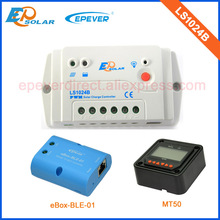 LS1024B intelligent charge controller solar system EPSolar brand with MT50 remote 10A 12V 24V and bluetooth function