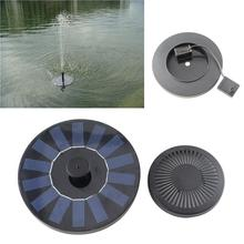 Solar Water Pump Floating Fountain Garden Plants Watering Outdoor Garden Pool Decorative(China)