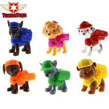 Hot 1Pcs Dog Toys Juguetes Kids Toys Canine Puppy Patrol Dogs Pet Puppy Patrol American Movie Figure Everest/Ryder/Skye Toys