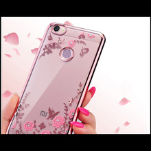 Buy Xiaomi redmi 3S Case Luxury Silm Secret Garden Flowers Rhinestone Plating Back Cover Case Redmi 3S 3 S Redmi 3 Pro for $1.59 in AliExpress store