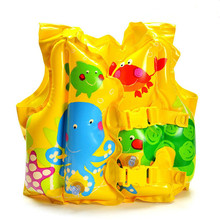 High quality children's swimming ring cartoon fish vest life jacket life buoy xx093