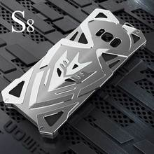 High  Metal  Phone Case For Samsung Galaxy S8 Luxury Armor Heavy Dust Aluminum Case For Samsung Galaxy S8 / 8 Plus Cover Coque