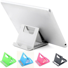 Plastic Foldable Tablet PC Stand Desk eReaders Mobile Phone Holder Cradle Support Mount For iPad iPhone Samsung 10 inch Tablet