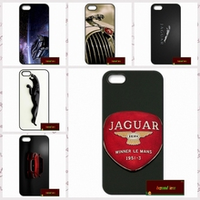 Jaguar car LOGO Phone Cases Cover For iPhone 4 4S 5 5S 5C SE 6 6S 7 Plus 4.7 5.5    #SD01311