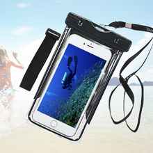 For Vodafone smart ultra 6 7 Waterproof Case Underwater Cell Phone Pouch Diving Mobile Dry Swim Cover Vodafone smart prime 6 7
