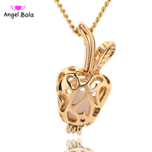 Angel Bola Jewelry Yoga Aromatherapy Essential Oils Surgical Perfume Diffuser Locket Necklace Drop Shipping L167