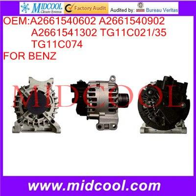 High Quanity Car Alternator OEM:A2661540602 A2661540902 A2661541302 TG11C021/35 TG11C074<br><br>Aliexpress