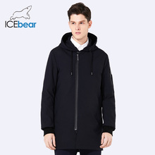 ICebear 2018 new spring men's coat clothing fashion man jacket diagonal placket hooded design high quality clothing MWC18031D(China)