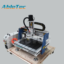 Hobby cnc 3d engraver machine mini mdf cnc milling machine pcb engraving machine cnc router 6040 with best aftersale(China)