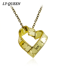 Personality Design Love Measurement Ruler Love Necklace Mother's Day Gift Valentine's Day Gift Fashion Jewelry
