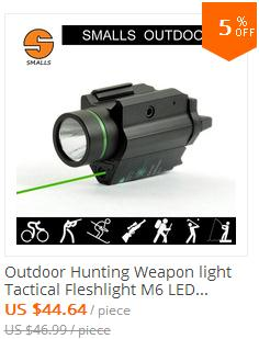 M6 flashlight with green laser CL15-0097