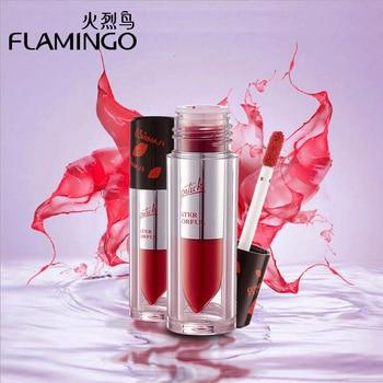 Lèvres Maquillage Marque Flamingo Joue Hydratant Brillant À Lèvres Coloré Brillant Tache Liquide shimmer hydraté facile couleur à lèvres