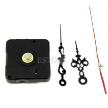 Free Shipping Hands Quartz Clock Movement Mechanism Repair Tool Parts Kit Set New