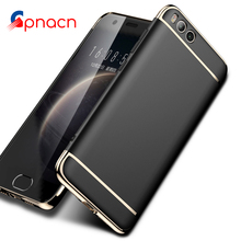 360 Full Protection Case For Xiaomi mi5S Plus cases For Xiaomi mi6 5S case Cover Electroplated Phone protective Matte Hard shell