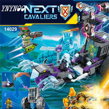 (YNYNOO) 14029 Nexus Knights Building Blocks set Ruina's Lock & Roller Kids gift bricks toys compatible with(China)