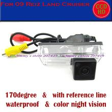 color CCD HD car rear view camera parking monitor rear view system car security for TOYOTA LAND CRUISER/REIZ 09 night vision
