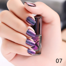 BK Brand Black Starry Sky Holographic Stamping Nail Polish Long Lasting Quickly Dry Nail Lacquer 8 Color Stamp Holo Enamel Paint
