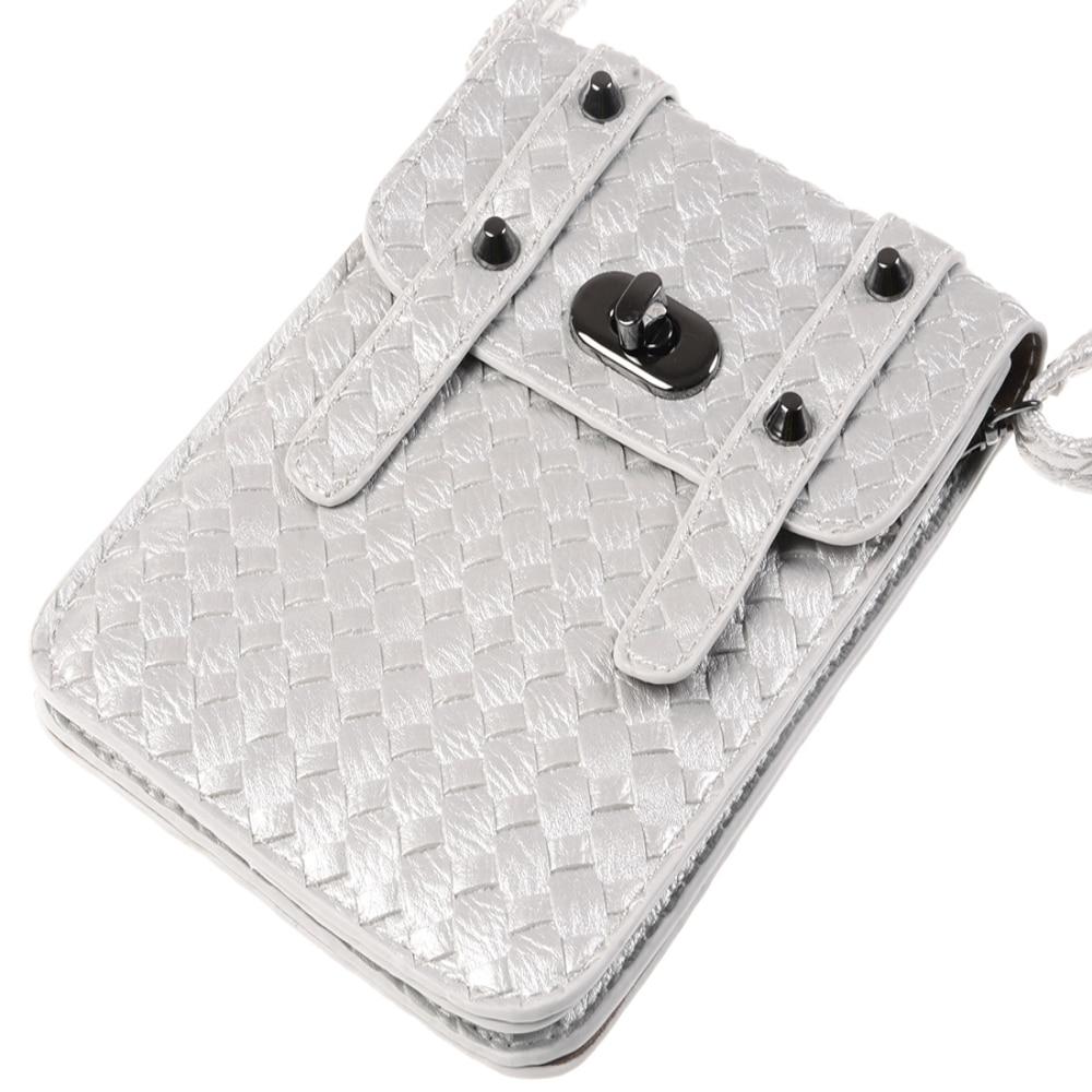 New Universal Leather Cell Phone Bag Shoulder Pocket Wallet Pouch font b Case b font Neck
