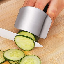 Easy Life Finger guard newest stainless steel protect finger hand not to hurt cut Safety Guard Kitchen cooking tools