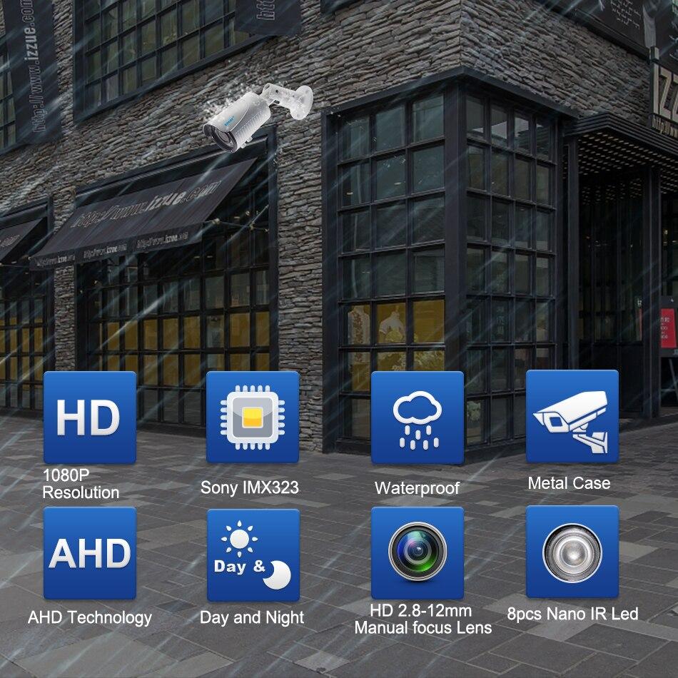 Smar SONY 1080P AHD Camera 12.8 inch SONY IMX323 3000TVL AHDH Full HD CCTV Surveillance Security Camera Outdoor IP67 Metal Case (1)