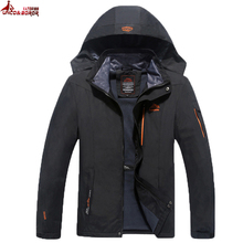 UNCO&BOROR Size 6XL 7XL 8XL Male Jacket Spring Autumn Quality Brand Waterproof Windproof Jacket Coat Tourism Mountain Jacket Men(China)