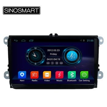 SINOSMART 9 ''Quad Core Android 4.4 Voiture GPS Lecteur pour Volkswagen Touran/Jetta/CC/Polo/Golf 5/Golf 6 Canbus Facultatif