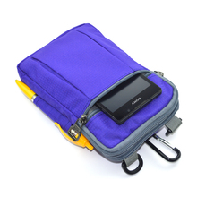 Men's waist pack Purse tobacco package Waterproof small one shoulder bag,cross body messenger bags 6.5 inch smart phone bag(China)