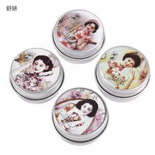 Brand Shanghai ShuYan 4pcs/Set Sweet Floral Parfume Fragrance Balm Solid Perfumes For Women & Fragrances Deodorant Fragrance(China)