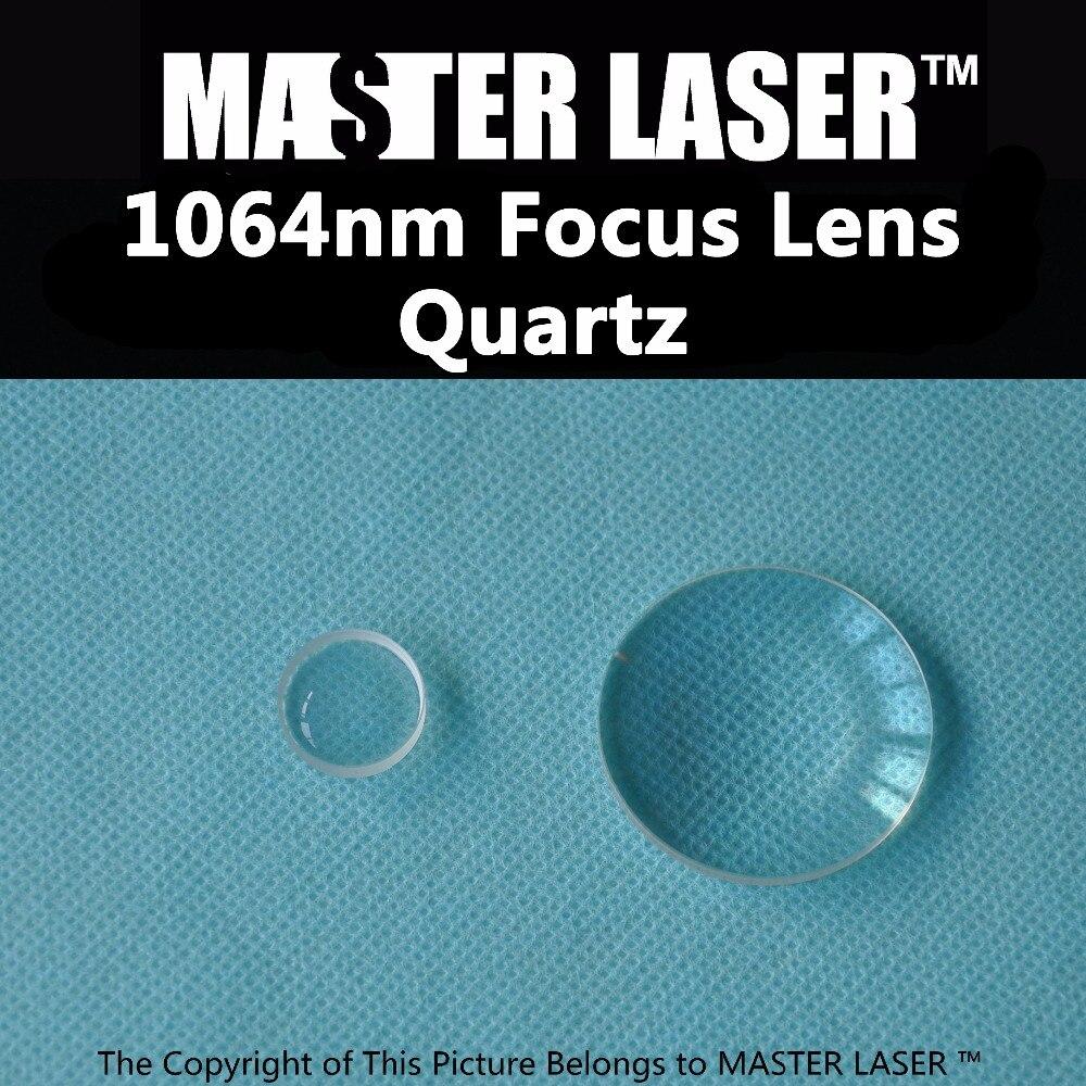 Quartz YAG High Power Cutting Machine Laser Focus Lens<br>