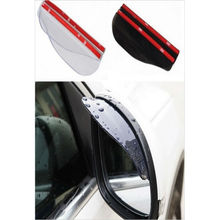 2 pz Flessibile Car Rear View Specchio Anti-Pioggia Visiera Neve Guardia del Tempo Tenda Da Sole Specchietto Retrovisore Copertina Accessori Auto(China)