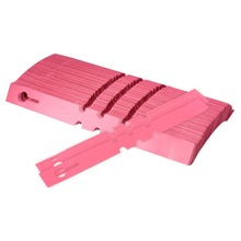 Pink 200pcs 2x20cm Plastic Plant Hanging Tags Nursery Gardening Labels Garden Ornaments