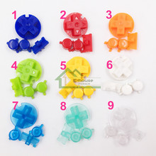50 set x colorful buttons set AB buttons replacement for Gameboy Pocket for GBP Game Console