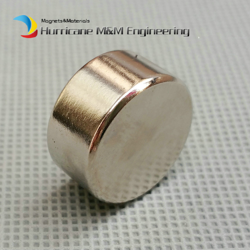 NdFeB Disc Magnet Dia. 12.7x6.35 mm 1/2x1/4 thick Neodymium Permanent Magnets Grade N42 Axially Magnetized<br>
