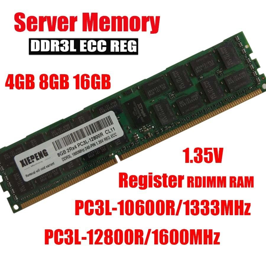 DDR3 4GB 8GB 16GB RAM 2Rx4 For REG ECC Samsung 1066 1333 1600 1866Mhz Server