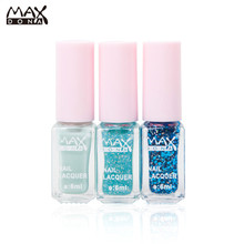 Nail Polish 3PCS/SET Maxdona Nail Polish 3 Color Long-Lasting Gradient Cocktail Magic Gel DIY Art Quick Dry